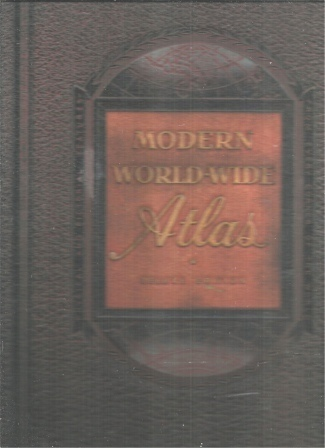 Image for Modern World-Wide Atlas- Deluxe Post War Edition