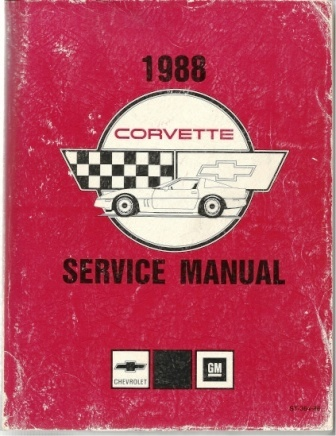 Image for 1988 Corvette Service Manual