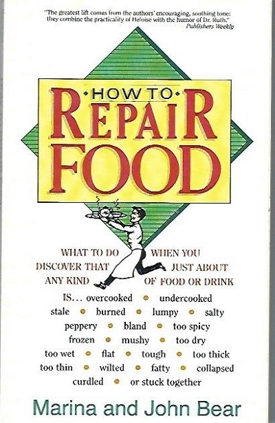 Image for How to Repair Food