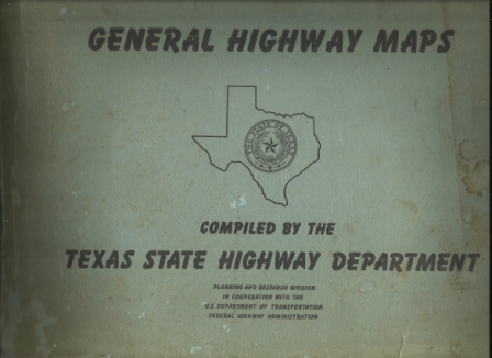 Image for 1974 General Highway Maps [texas] Planning and Research Division in Cooperation with the U. S. Department of Transportation Federal Highway Administration