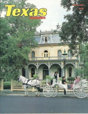 Image for Texas Highways Magazine, March 1986 The Official Texas State Travel Magazine