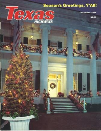 Image for Texas Highways Magazine, December 1986 The Official Texas State Travel Magazine