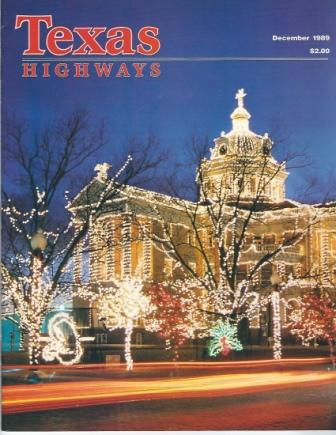 Image for Texas Highways Magazine, December 1989 The Official Texas State Travel Magazine