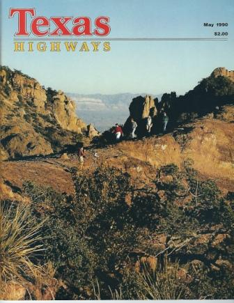 Image for Texas Highways Magazine, May 1990 The Official Texas State Travel Magazine