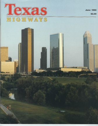 Image for Texas Highways Magazine, June 1990 The Official Texas State Travel Magazine