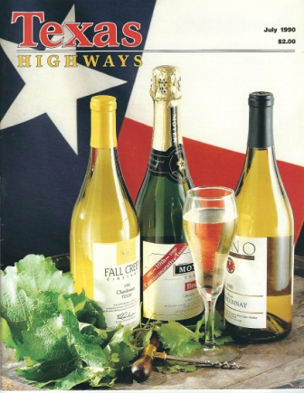 Image for Texas Highways Magazine, July 1990 The Official Texas State Travel Magazine