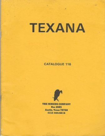 Image for Texana, Catalogue 116