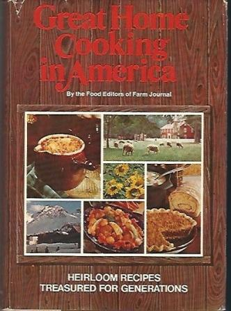 Image for Great Home Cooking in America Heirloom Recipes Treasured for Generations