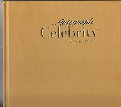 Image for Autograph Celebrity Cookbook