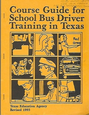 Image for Course Guide For School Bus Driver Training In Texas