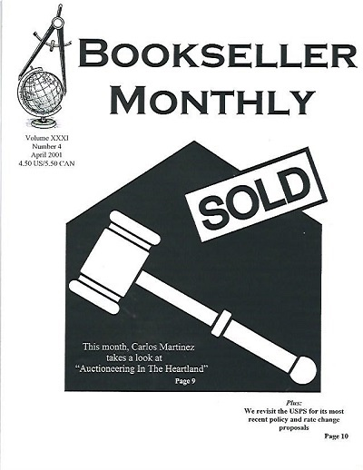 Image for Bookseller Monthly, April 2001 Volume XXXI, Number 4