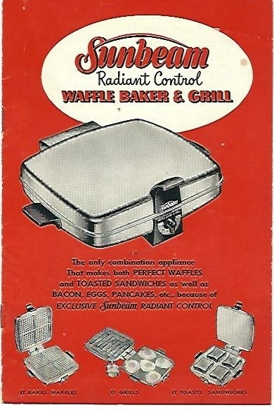 Image for Sunbeam Radiant Control  Waffle Baker & Grill