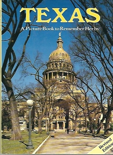 Image for Texas  A Picture Book To Remember Her By