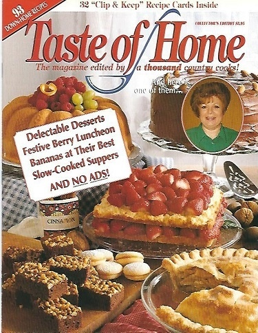 Image for Taste Of Home Collector's Edition The Magazine Edited by a Thousand Country Cooks!