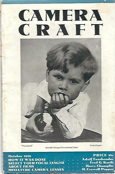 Image for Camera Craft October 1936 A Photographic Monthly Volume XLIII Number 10
