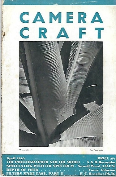 Image for Camera Craft April 1940 A Photographic Monthly Volume XLVII Number 4