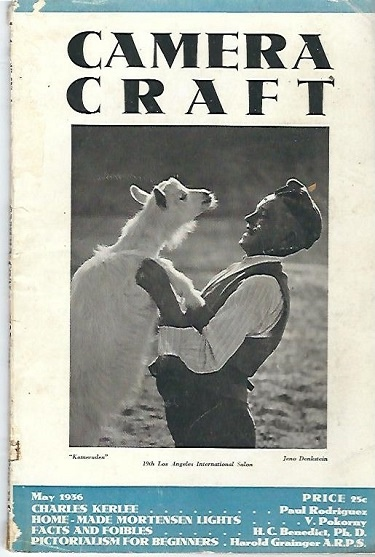 Image for Camera Craft May 1936 A Photographic Monthly Volume XLIII Number 5