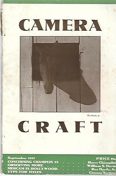 Image for Camera Craft September 1937 A Photographic Monthly Volume XLIV Number 9