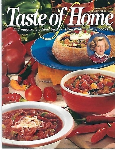 Image for Taste Of Home, February/march 2001 The Magazine Edited by a Thousand Country Cooks!