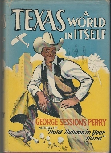Image for Texas, A World In Itself