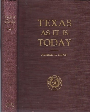 Image for Texas As It Is Today