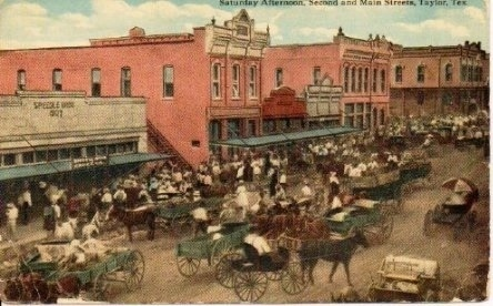 Image for Saturday Afternoon, Second And Main Street, Taylor, Texas