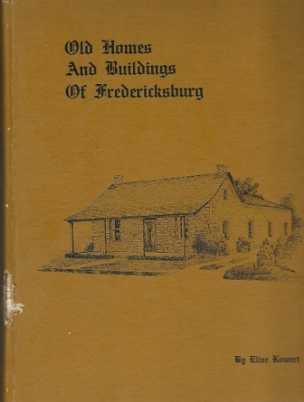 Image for Old Homes and Buildings of Fredericksburg