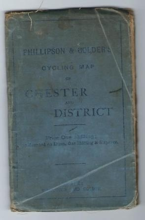 Image for Phillipson & Golder's Cycling Map Of Chester And District