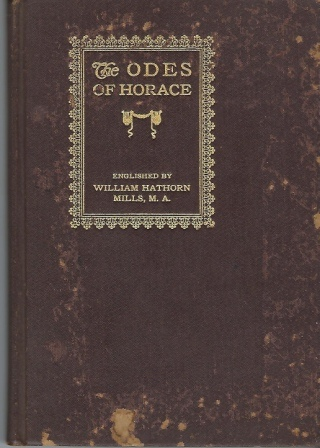 Image for The Odes Of Horace
