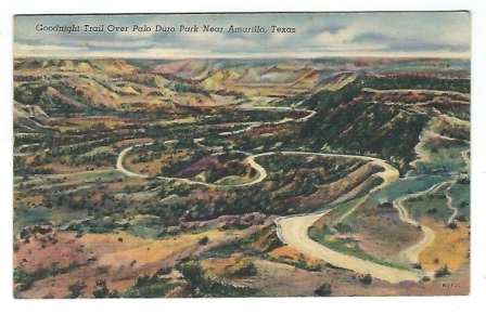 Image for Goodnight Trail Over Palo Duro Park Near Amarillo, Texas
