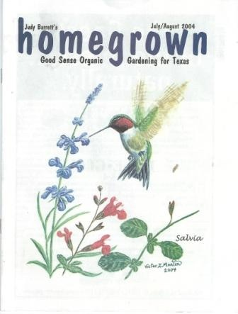 Image for Homegrown, Good Sense Organic Gardening For Texas, July / August 2004