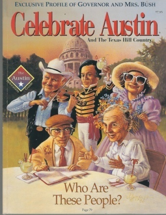 Image for Celebrate Austin And The Texas Hill Country With an Exclusive Profile of Governor and Mrs. Bush