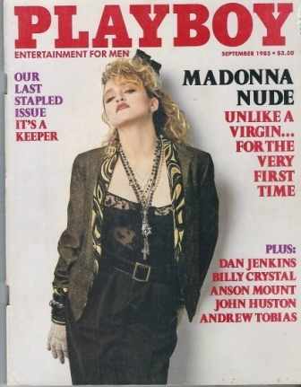 Image for Playboy Magazine Entertainment For Men, September 1985, Madonna