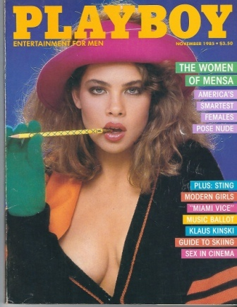 Image for Playboy Magazine Entertainment For Men, November 1985, Teri Weigel