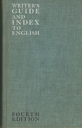 Image for Writer's Guide and Index to English  Fourth Edition