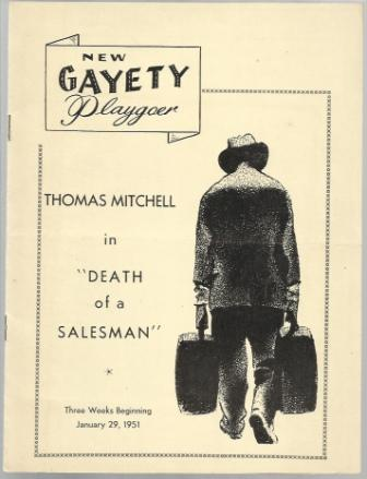 "Image for Thomas Mitchell In ""Death Of A Salesman"""
