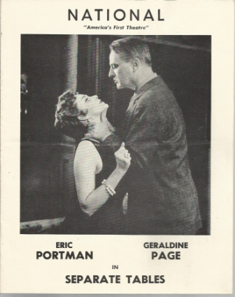 Image for Separate Tables And Table By The Window Stars of Separate Tables Are Eric Portman and Geraldine Page
