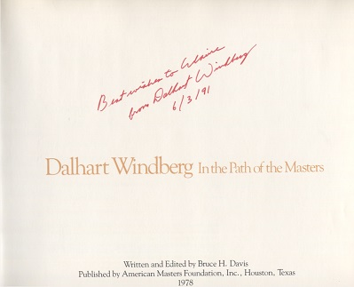 Image for Dalhart Windberg, in the Path of the Masters