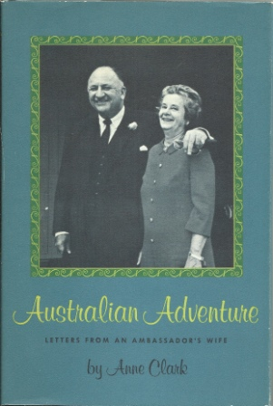 Image for Australian Adventure  Letters from an Ambassador's Wife