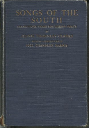 Image for Songs of the South Choice Selections from Southern Poets