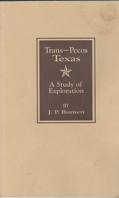 Image for Trans-Pecos Texas  A Study of Exploration