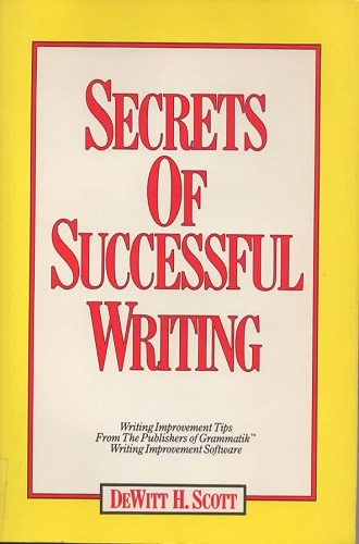 Image for Secrets Of Successful Writing