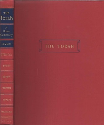 The Torah, A Modern Commentary, IV Numbers