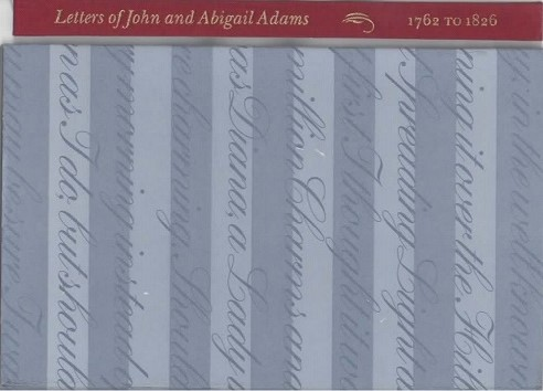 Image for Letters of John and Abigail Adams 1762 to 1826