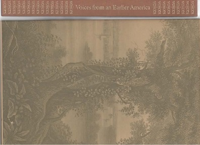 Image for Voices from an Earlier America An Anthology of Poetry Seventeenth to Nineteenth Centuries.