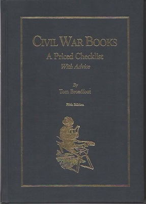 Image for Civil War Books A Priced Checklist with Advice