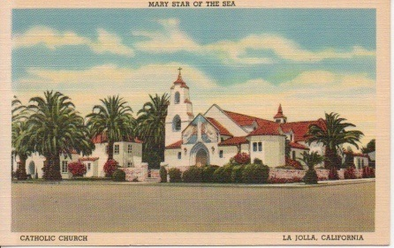 Image for Mary Star Of The Sea, Catholic Church, La Jolla, California