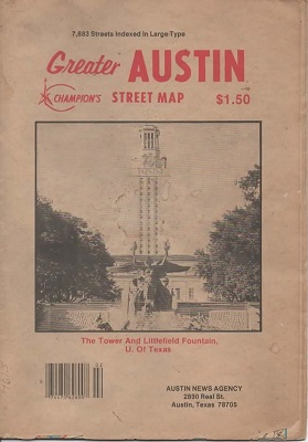 Image for Greater Austin Street Map 7883 Streets Indexed in Large Type
