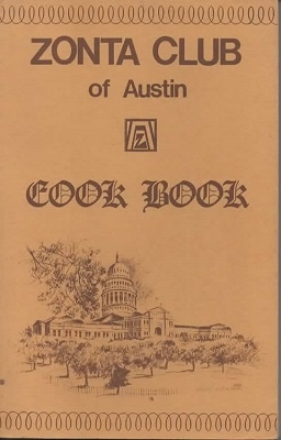 Image for Zonta Club of Austin Cookbook