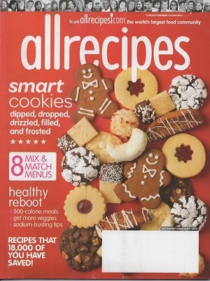 Image for Allrecipes Magazine December / January 2016 Smart Cookies